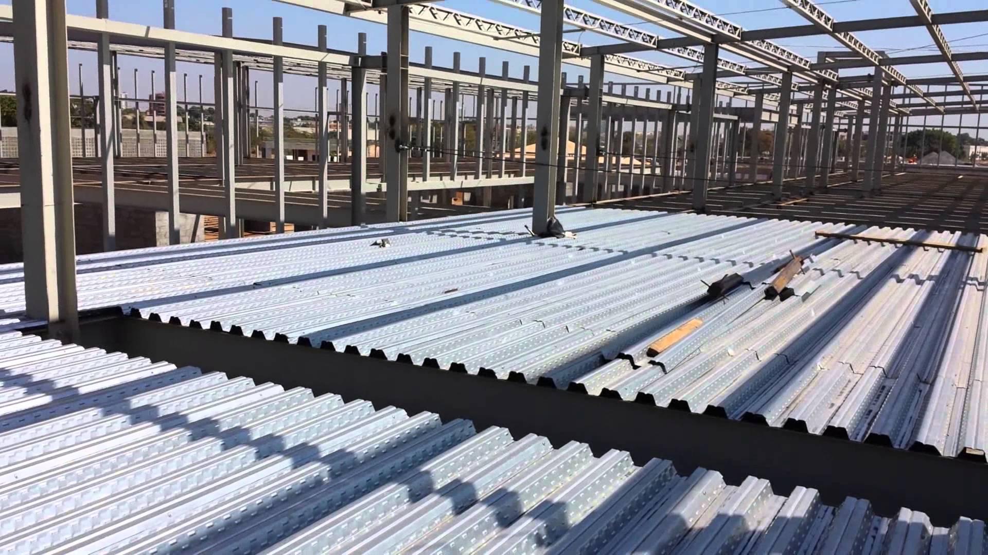 Uso Do Steel Deck Como Solu 231 227 O Estrutural Full Estruturas